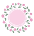 ring of roses vector image vector image