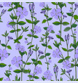 wildflowers pattern seamless background exotic