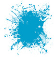 blue blob vector image
