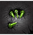 Claws protrude vector | Price: 1 Credit (USD $1)