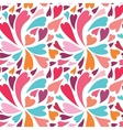 Colorful heart pattern vector image