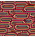 seamless big oval pattern in a retro style vector image vector image