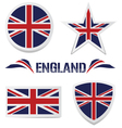 set of british icons vector image
