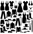 fashion industry shopping vector image