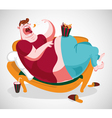 Fat Guy vector image