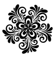floral pattern a design element vector image vector image
