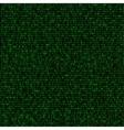 green code background vector image vector image