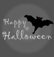 grey halloween background vector image