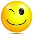 Happy smiley emoticon vector image vector image
