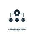 infrastructure icon creative element design from vector image