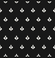 seamless pattern with small diamond shapes vector image vector image