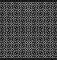 tile pattern with black and grey background vector image