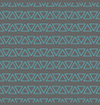 tile pattern with mint blue triangles on pastel vector image vector image