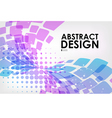 Abstract background purple and blue on white vector image vector image