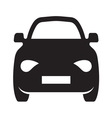Car simple icon1 resize vector image vector image