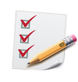Checklist vector | Price: 3 Credits (USD $3)