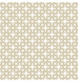 golden geometric seamless pattern white and gold vector image vector image