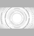 gray and white geometric technology abstract vector image