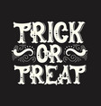 halloween quote typographical background made in vector image vector image
