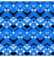 Hand drawn plaid pattern with zigzag lines vector image vector image