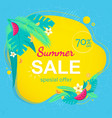 sale promotional material vector image vector image