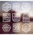 Set of sports badges vector image vector image
