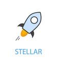stellar symbol vector image vector image