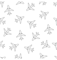 Stock pattern with line plane vector image