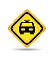 traffic sign concept icon car service vector image