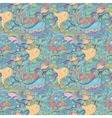 Green marine pattern vector image