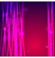 Abstract pink background with lines and bokeh vector image vector image