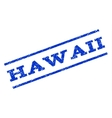 Hawaii Watermark Stamp vector image vector image