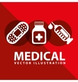 medical design vector image vector image