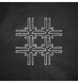 prison icon vector image vector image