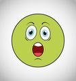 smiley faces design vector image vector image