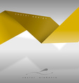 Yellow Layout vector image vector image