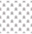 Bank pattern seamless vector image