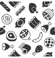 butchery meat seamless pattern for wrapping paper vector image