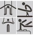 Gymnastics Artistic vector image vector image