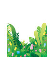 nature background border vector image