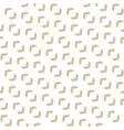 seamless texture with curved shapes small vector image vector image