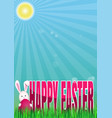spring easter vector image vector image