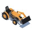 Tractor icon design eps10 vector image vector image