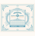 wedding invitation vintage card with forged metal vector image vector image