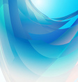 Abstract blue background square vector image vector image