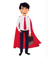 Asian business man concept of cartoon character