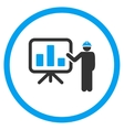 Engineer Lecture Icon vector image