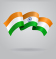 Indian waving Flag vector image
