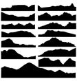 Mountain set vector | Price: 1 Credit (USD $1)