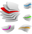 multi layers vector image vector image